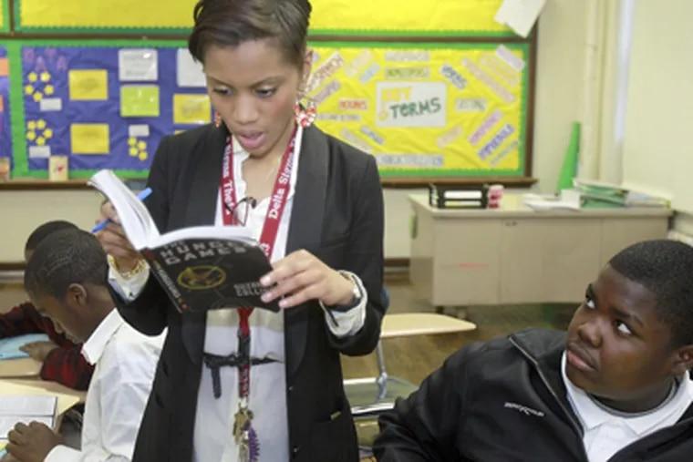 FitzSimons English teacher Kristian Ali was among the winners. (Akira Suwa / Staff Photographer)