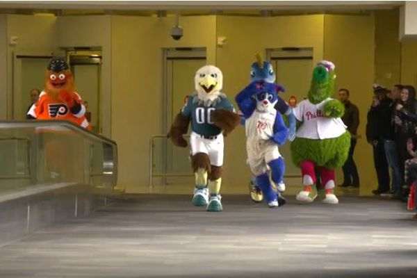 Merry Gritmas! Philly's mascots made a holiday video