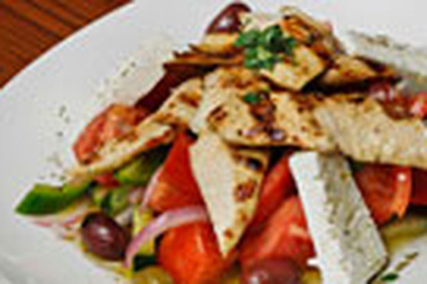 Good Taste: Horiatiki salad at Estia