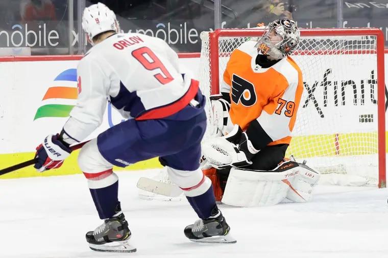 Flyers goaltender Carter Hart needs to rebound after a poor 2020-21 season.