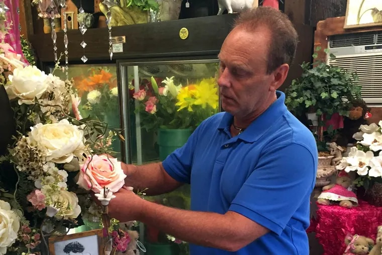 Rick Cuneo has run the Cherry Hill Flower Barn on Route 70 for 34 years. Recently, he learned Dunkin' Donuts wants to buy the site. If the deal goes through, Cuneo would be forced to leave.