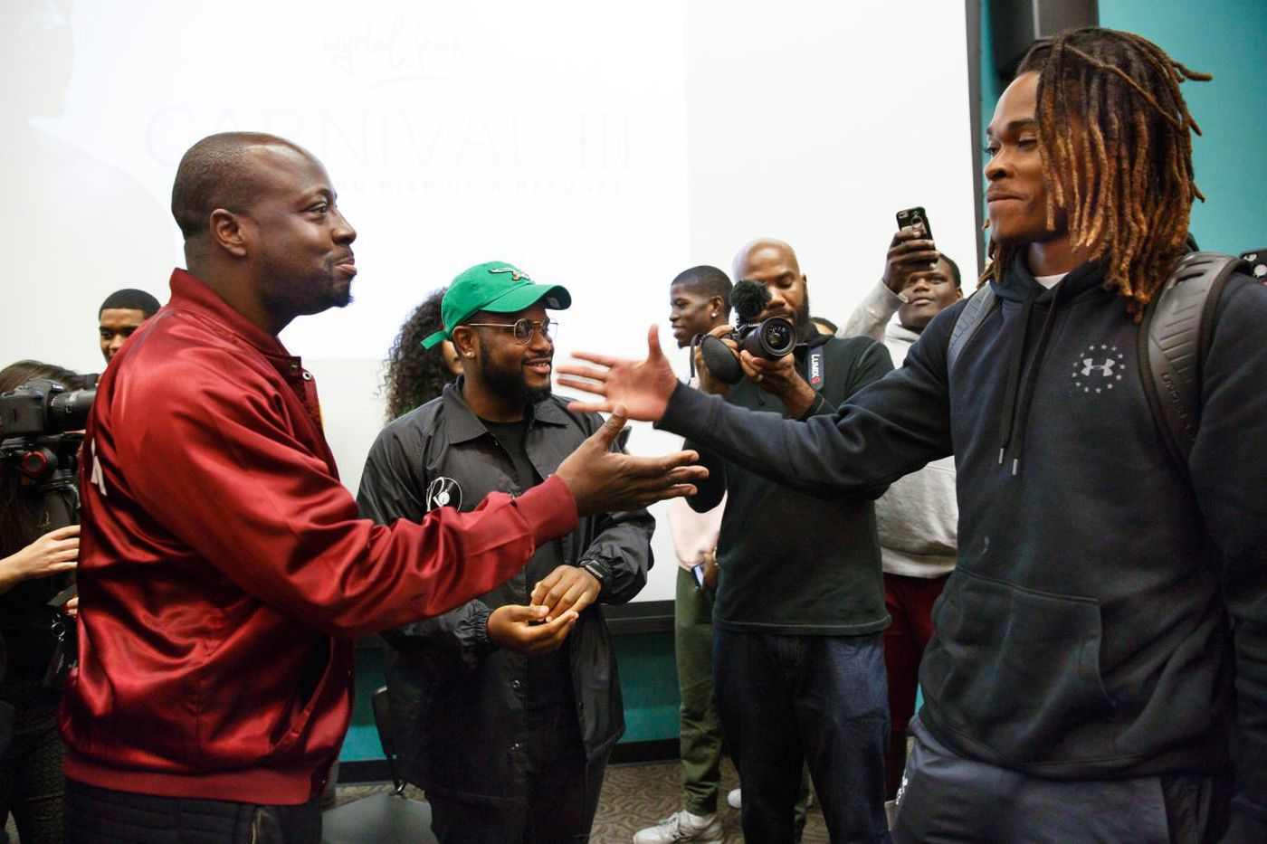Wyclef Jean visits Temple hip-hop class: 'The new innovators are in this room'