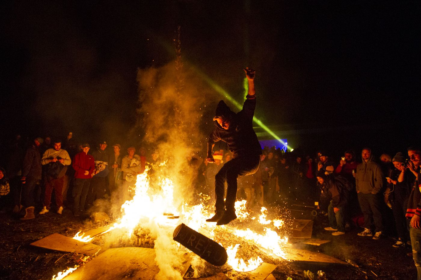 I went to Bam Margera's massive blow out party at Castle Bam in West Chester