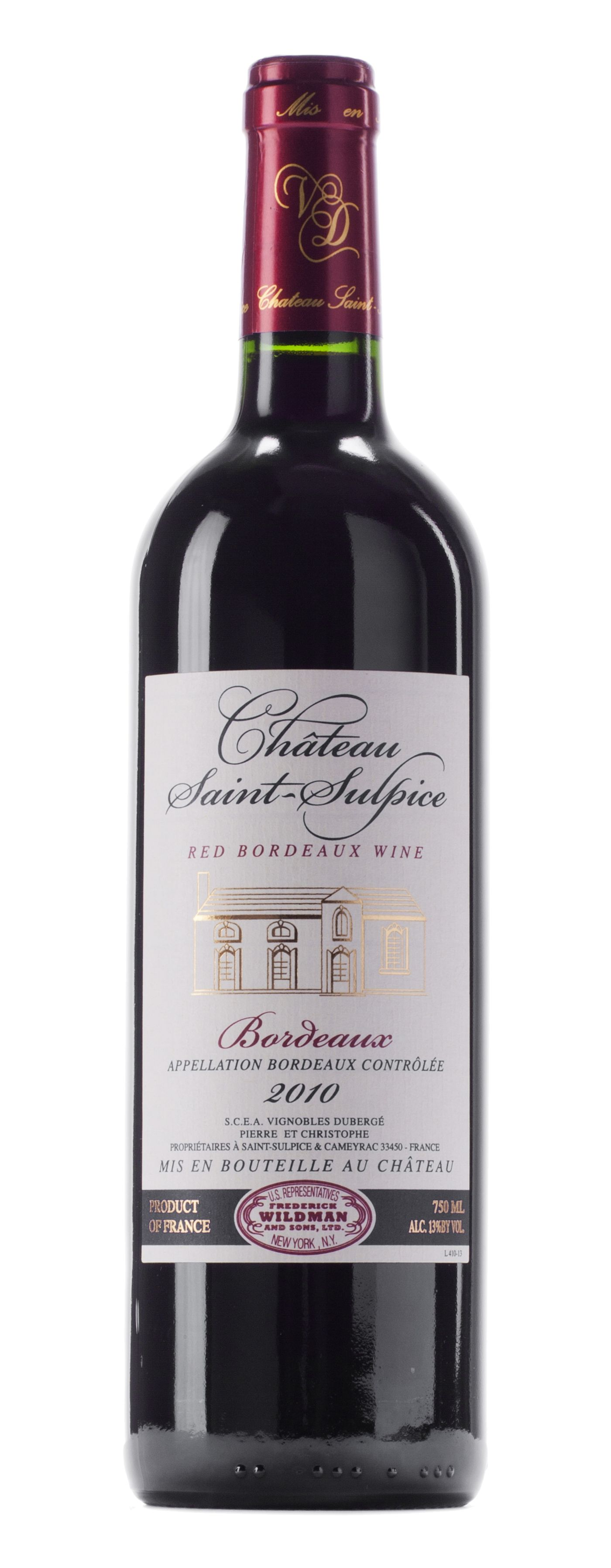 Great Wine Values: Château St. Sulpice Bordeaux