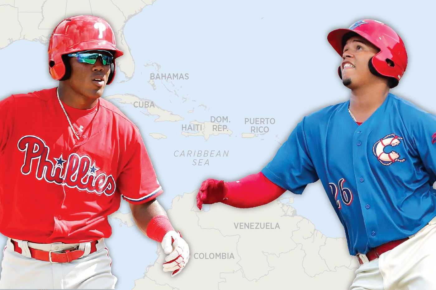 Phillies' pursuit of international players has failed to yield a superstar like Juan Soto or Ronald Acuna Jr.