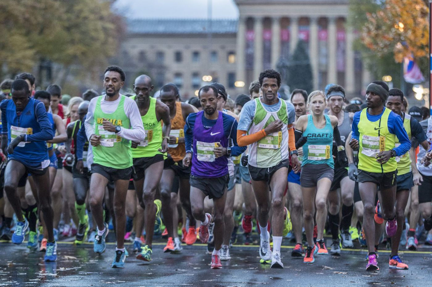 At the Philadelphia Marathon, expect high-tech shoes, energy gels, and science