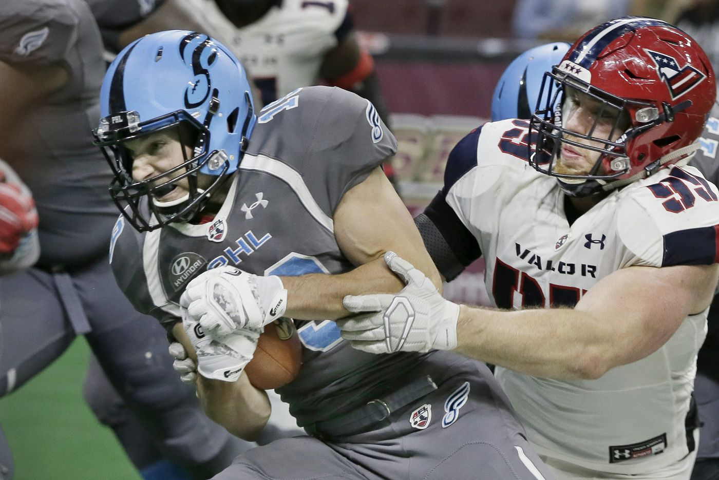 WR Aaron Wascha key for Soul against Albany