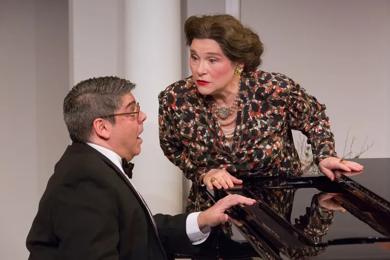 """""""Souvenir"""" at Act II Playhouse, with Sonny Leo and April Woodall"""