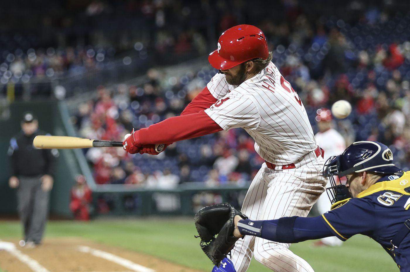 How defensive shifts have contributed to Bryce Harper's long slump   Extra Innings