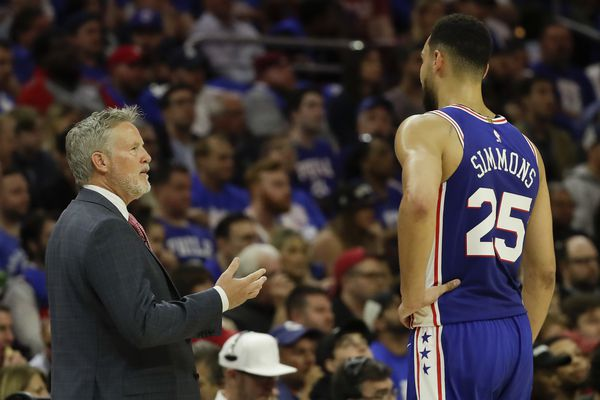 Sixers coach Brett Brown backs statement about wanting Ben Simmons to remain aggressive, shoot three-pointers