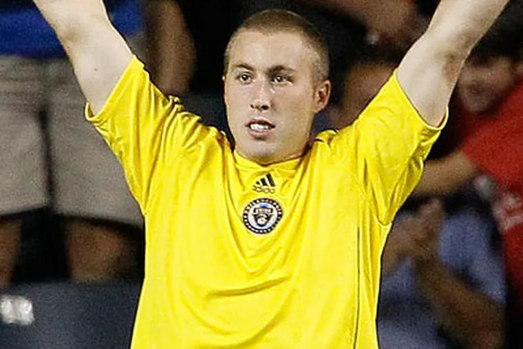 Brad Knighton is expected to get his fifth MLS start tonight. (Matt Slocum/AP file photo)