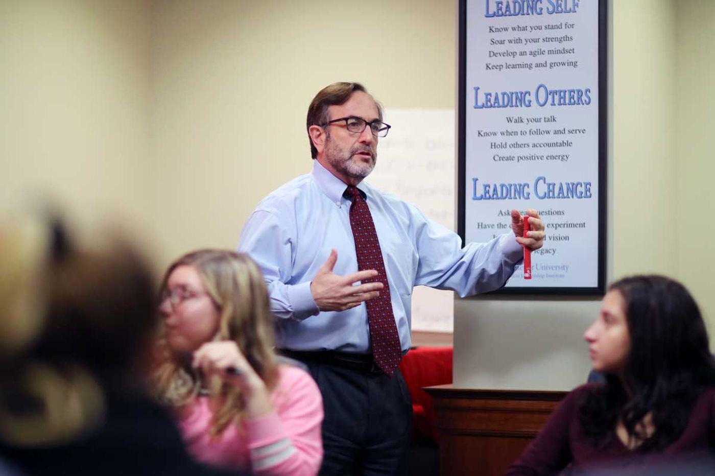 At Widener, leadership is for everyone