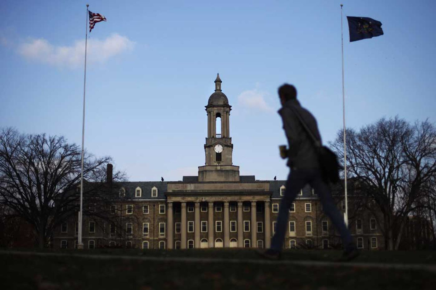 Police investigate 'inappropriate touching' at Penn State