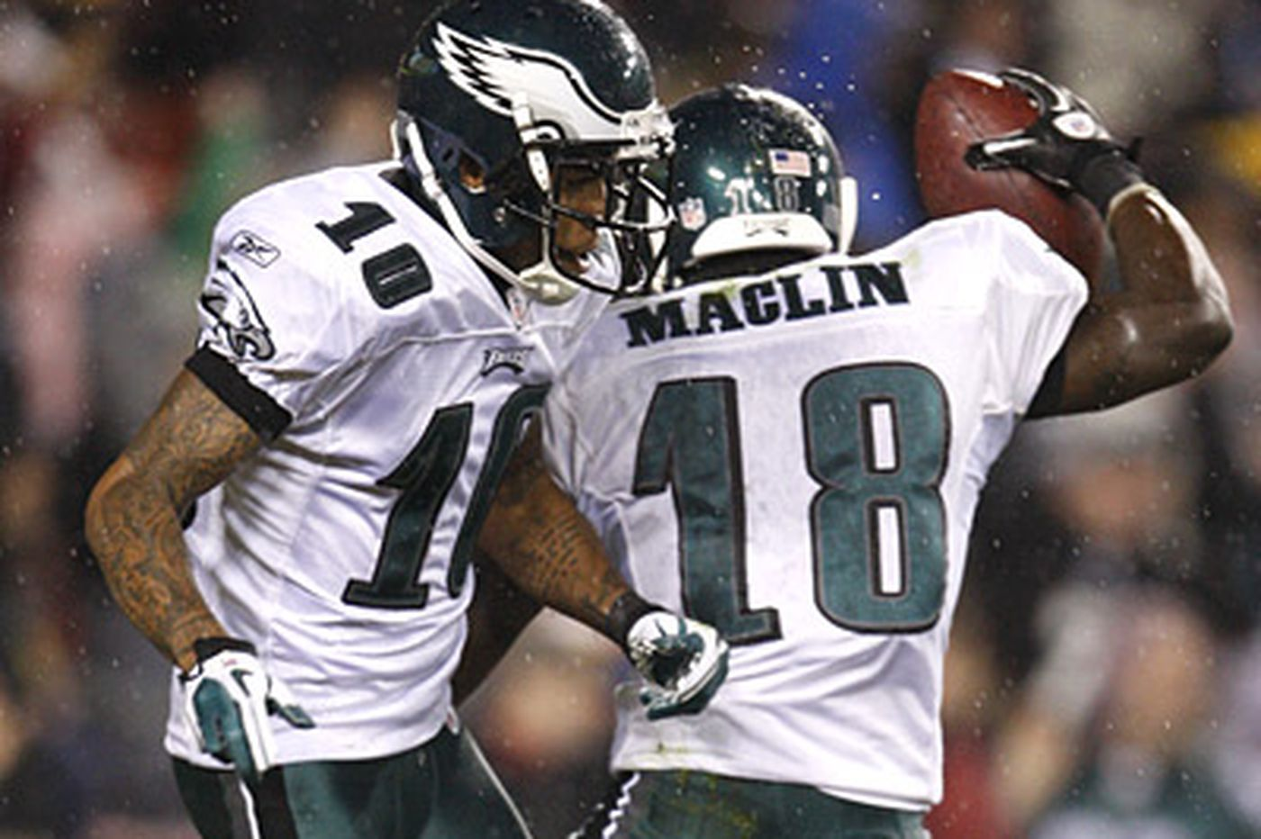 Maclin and Jackson likely to play for Eagles