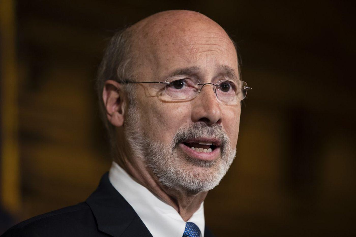 Gov. Wolf rebuffs Trump voter fraud commission