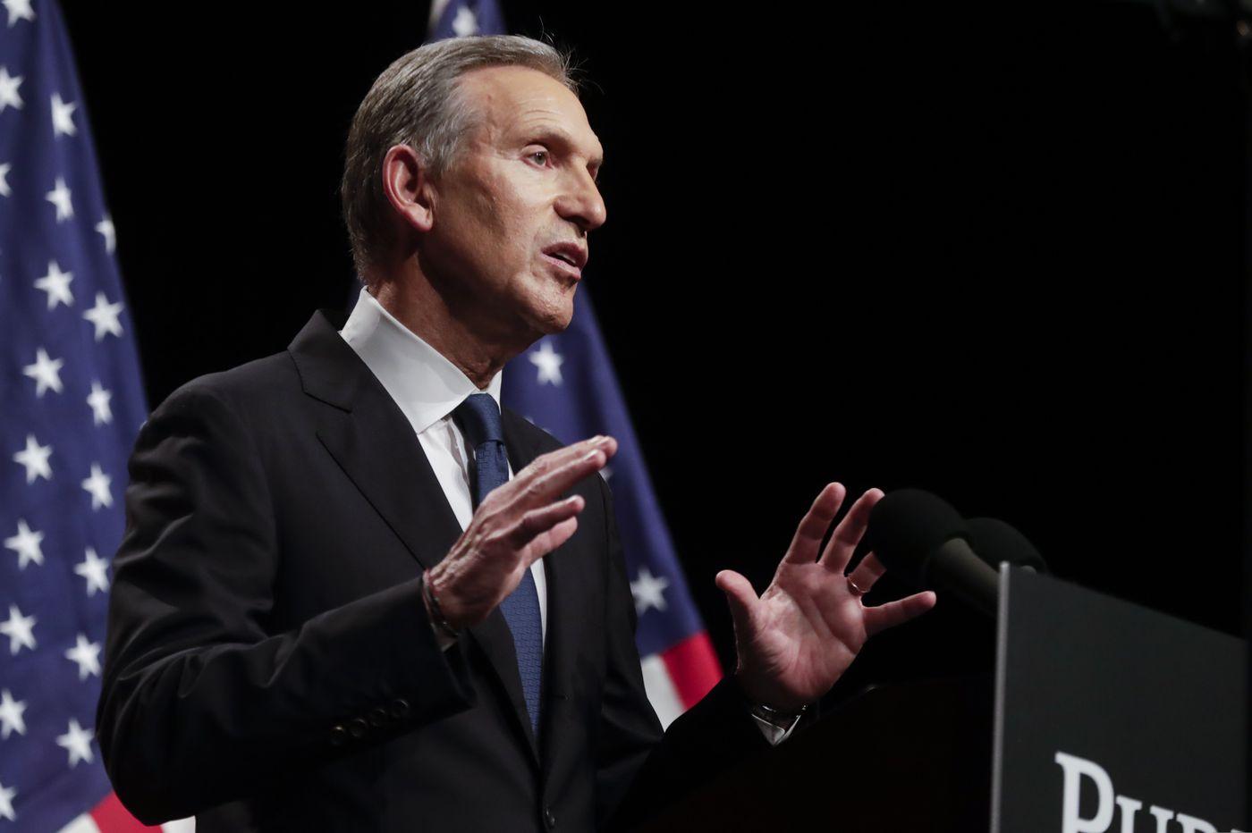 Mulling presidential bid, Howard Schultz again fails to vote