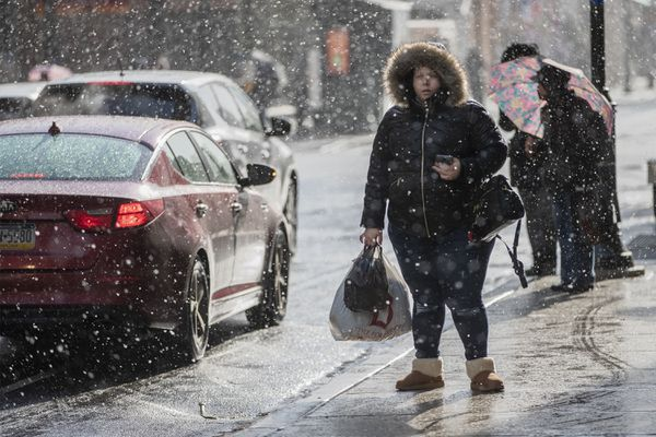 Snow's back in the forecast, but so is rain. Here's why that's so often the case in Philly.