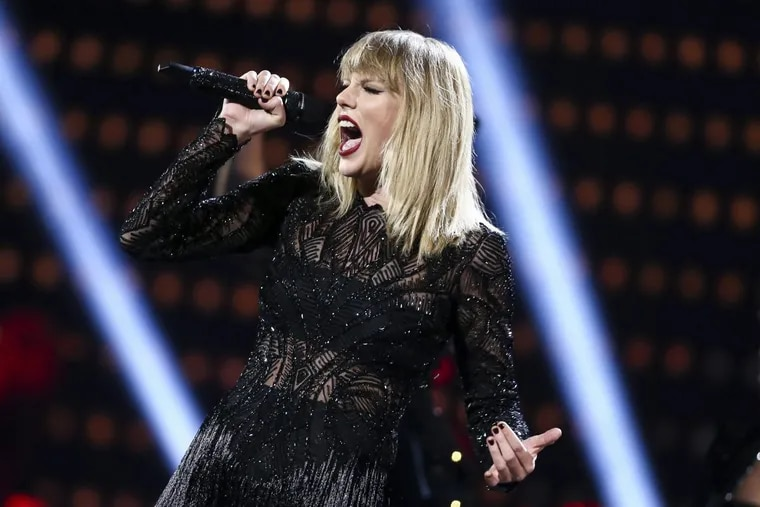 Taylor Swift performing in  February in Houston.