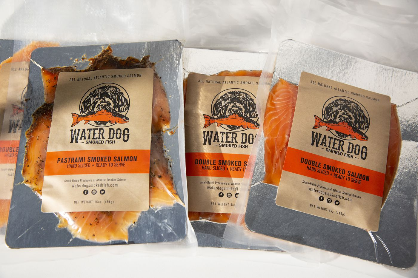 Water Dog is smoked salmon with Jersey Shore spirit