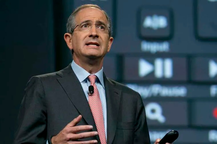 """CEO Brian Roberts said customer backlash made Comcast """"rethink how we do business."""" (ANDREW HARRER / Bloomberg)"""