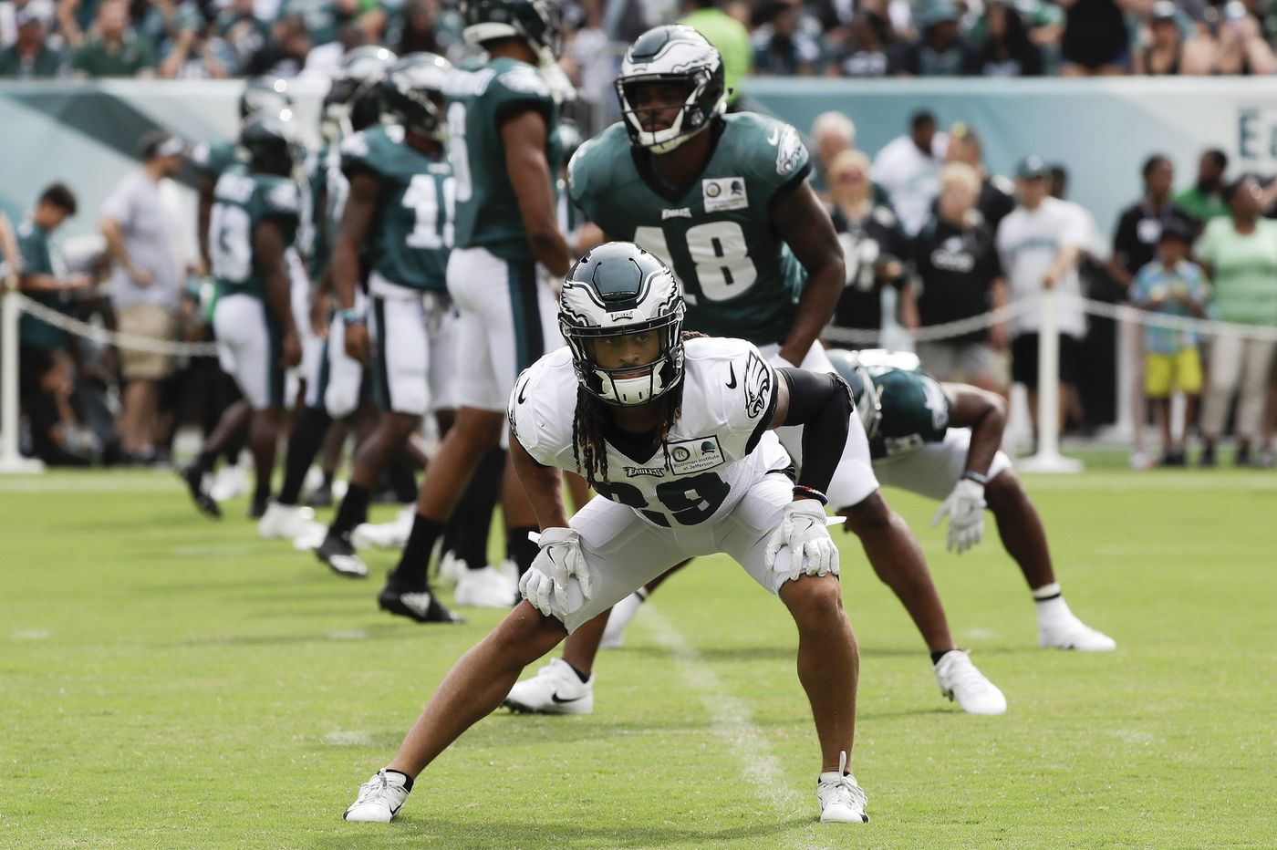 Avonte Maddox, the Eagles' smallest corner, is finding ways to stand out
