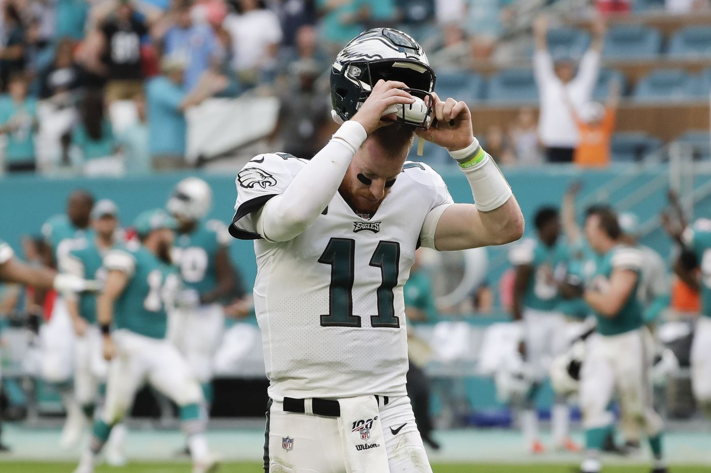 Doug Pederson's Eagles are history after historically bad loss to Miami Dolphins | Bob Ford