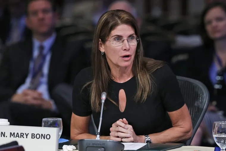 Mary Bono held the job for four days.