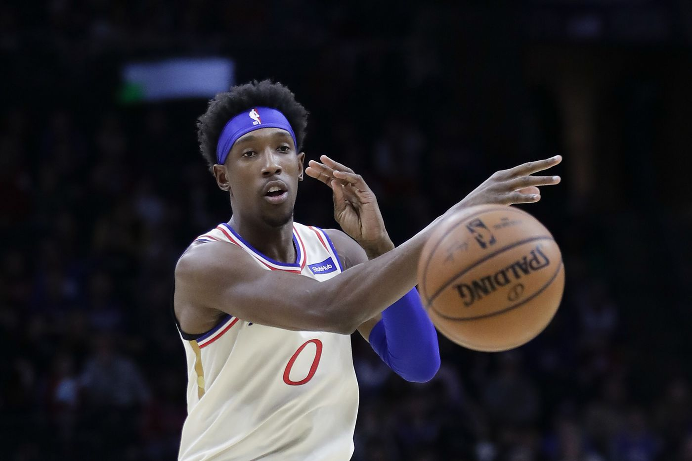 Josh Richardson steps up as the Sixers' vocal leader