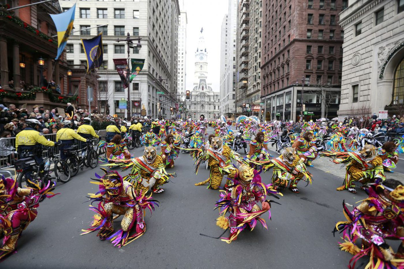 Deep freeze forces Mummers, city to consider postponing parade