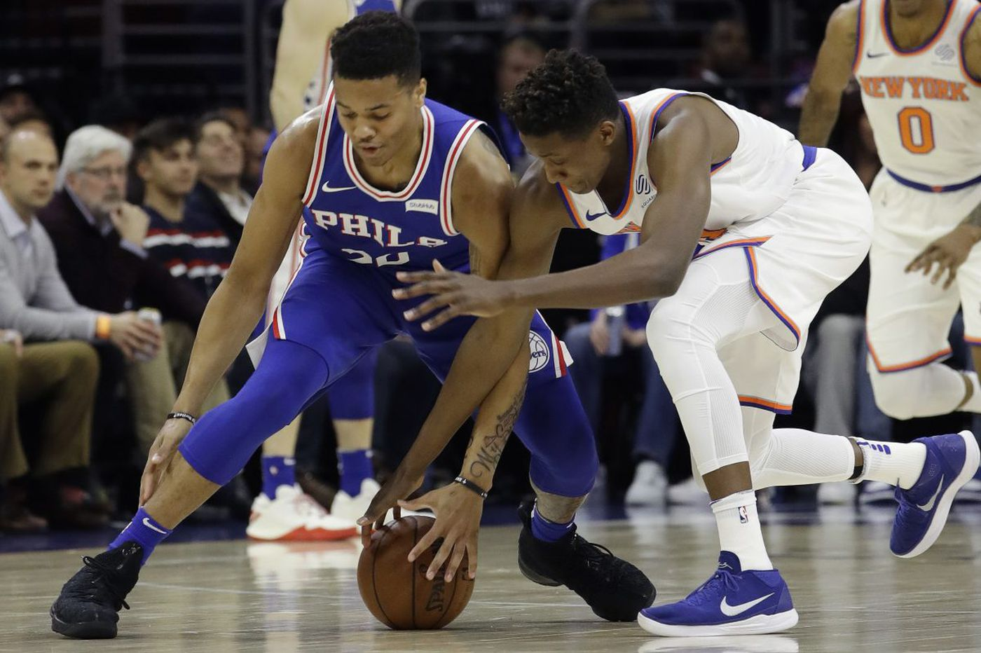 Markelle Fultz looks as if he can impact Sixers' playoff 'D' | David Murphy
