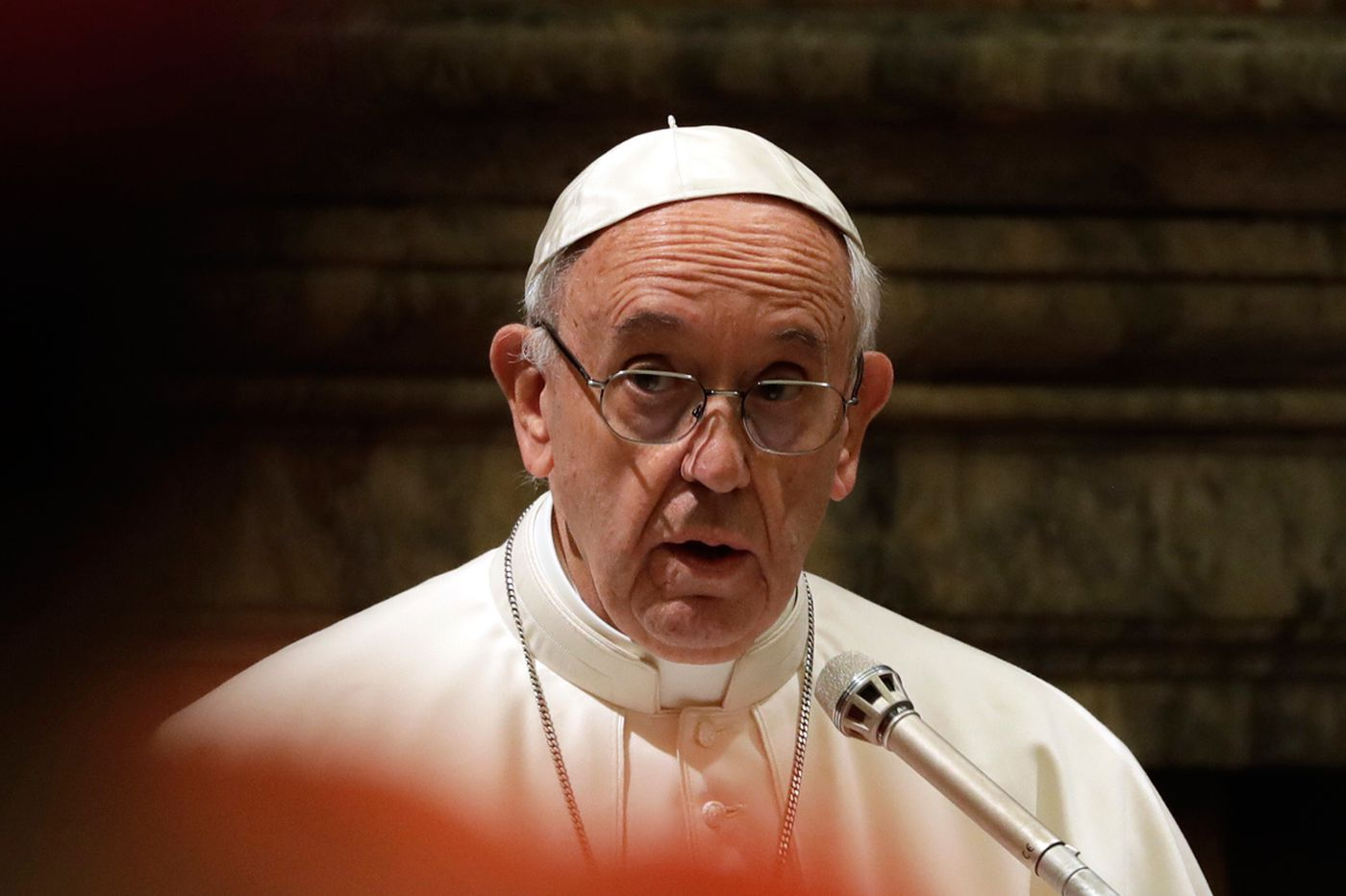 Pope Francis is waging a war on Christmas. Christians should join him.