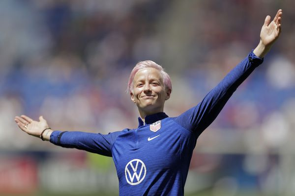 USWNT's Megan Rapinoe heads to World Cup playing some of the best soccer of her career