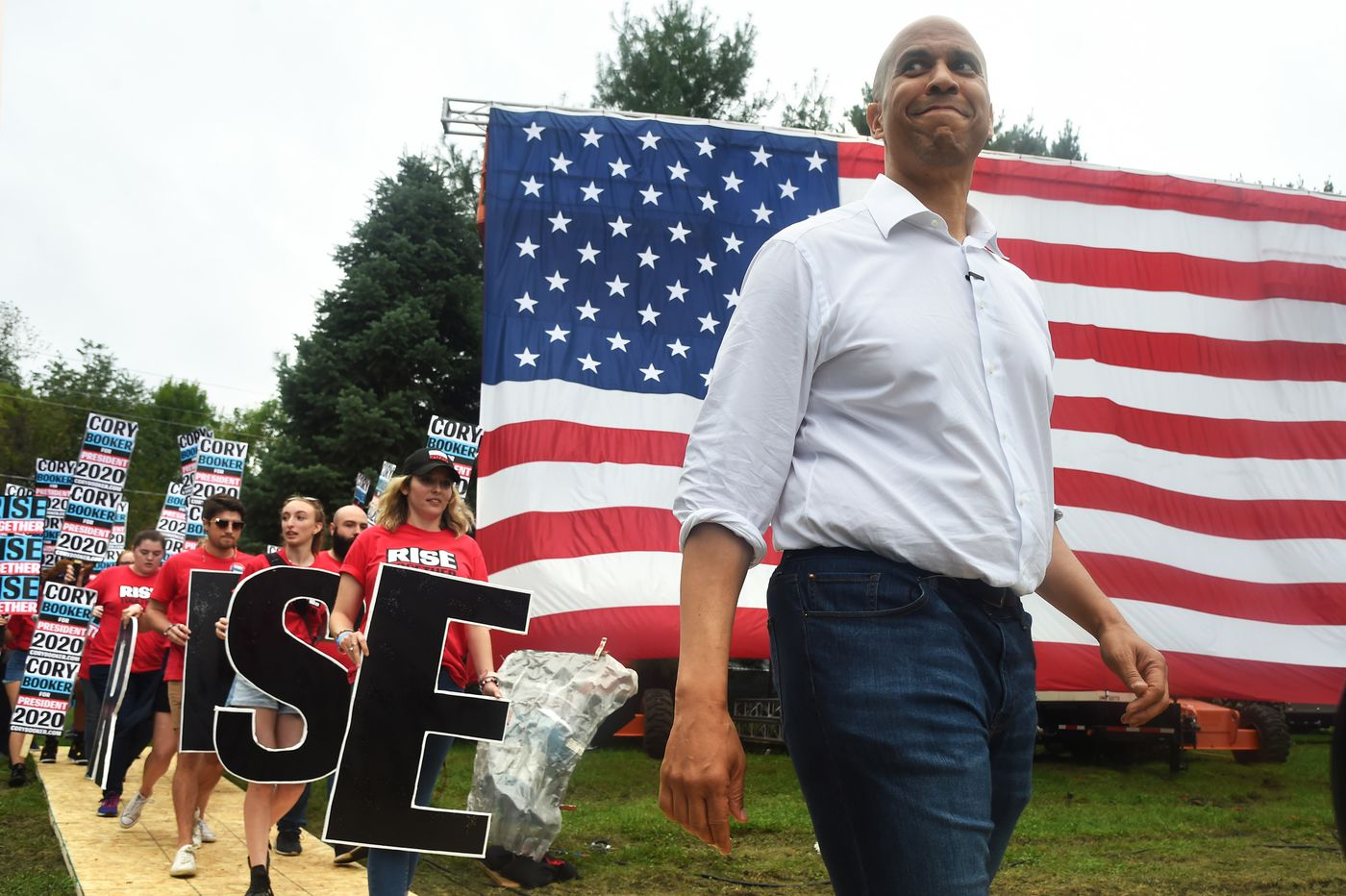 Cory Booker campaign says he is in danger of dropping out of 2020 presidential race