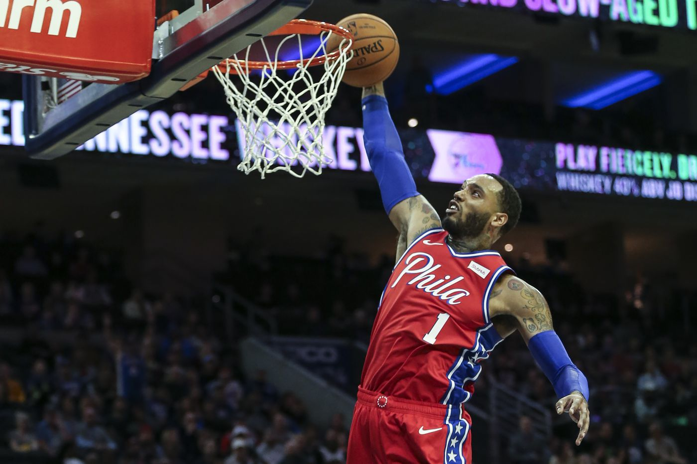 Mike Scott is feeling comfortable heading into first full season with Sixers