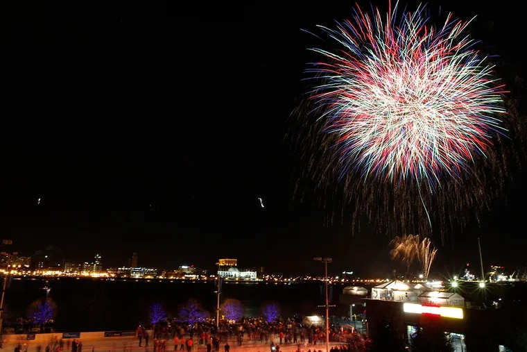 Catch this year's fireworks at 6 p.m. and midnight at Penn's Landing and along the Delaware River.