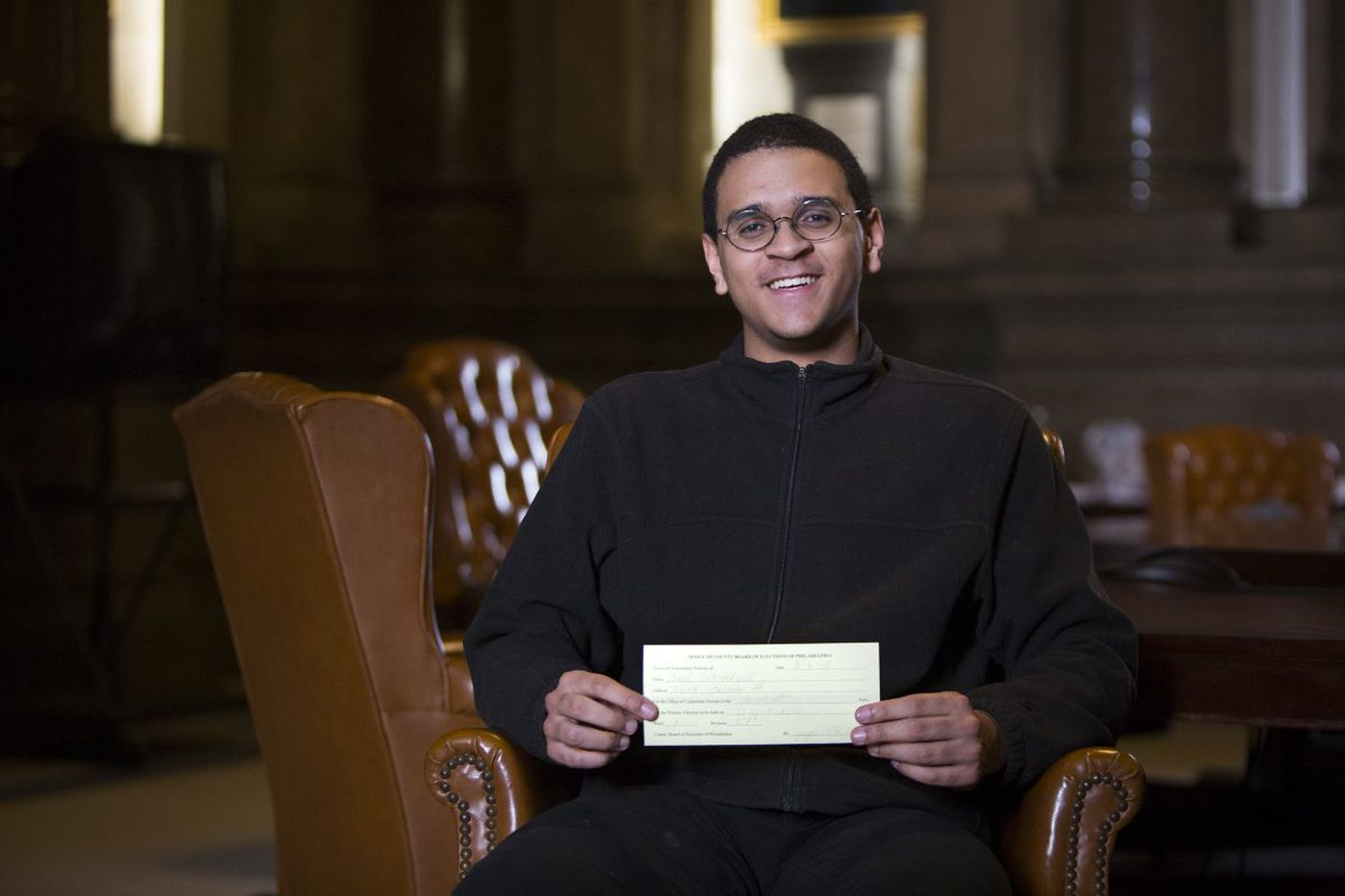 This high school senior is one of Philadelphia's newest politicians
