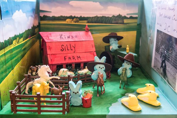 A Peeps diorama contest takes over Peddler's Village — no politics allowed