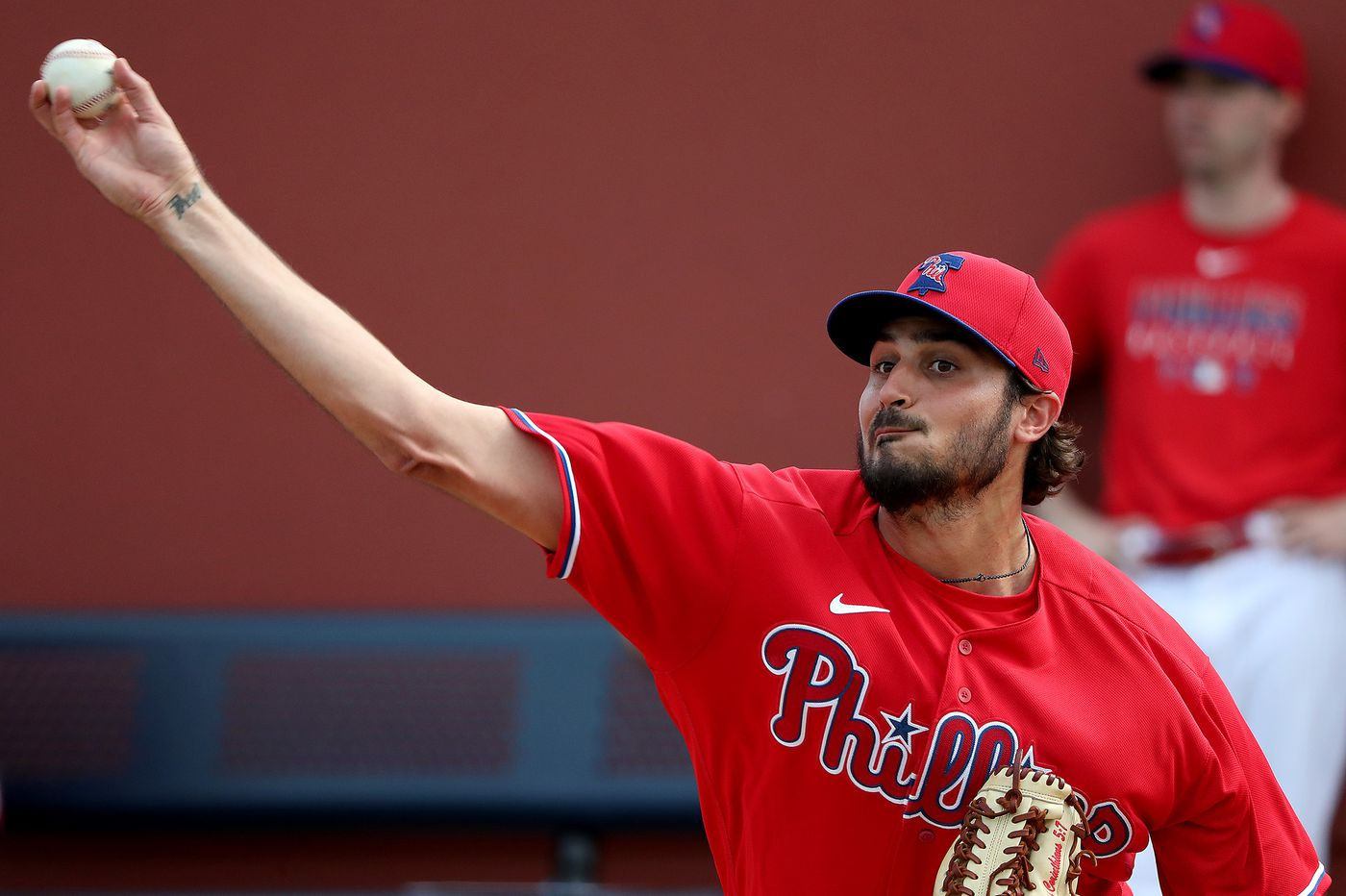 Phillies pitcher Zach Eflin says he's no longer trying to be someone he's not