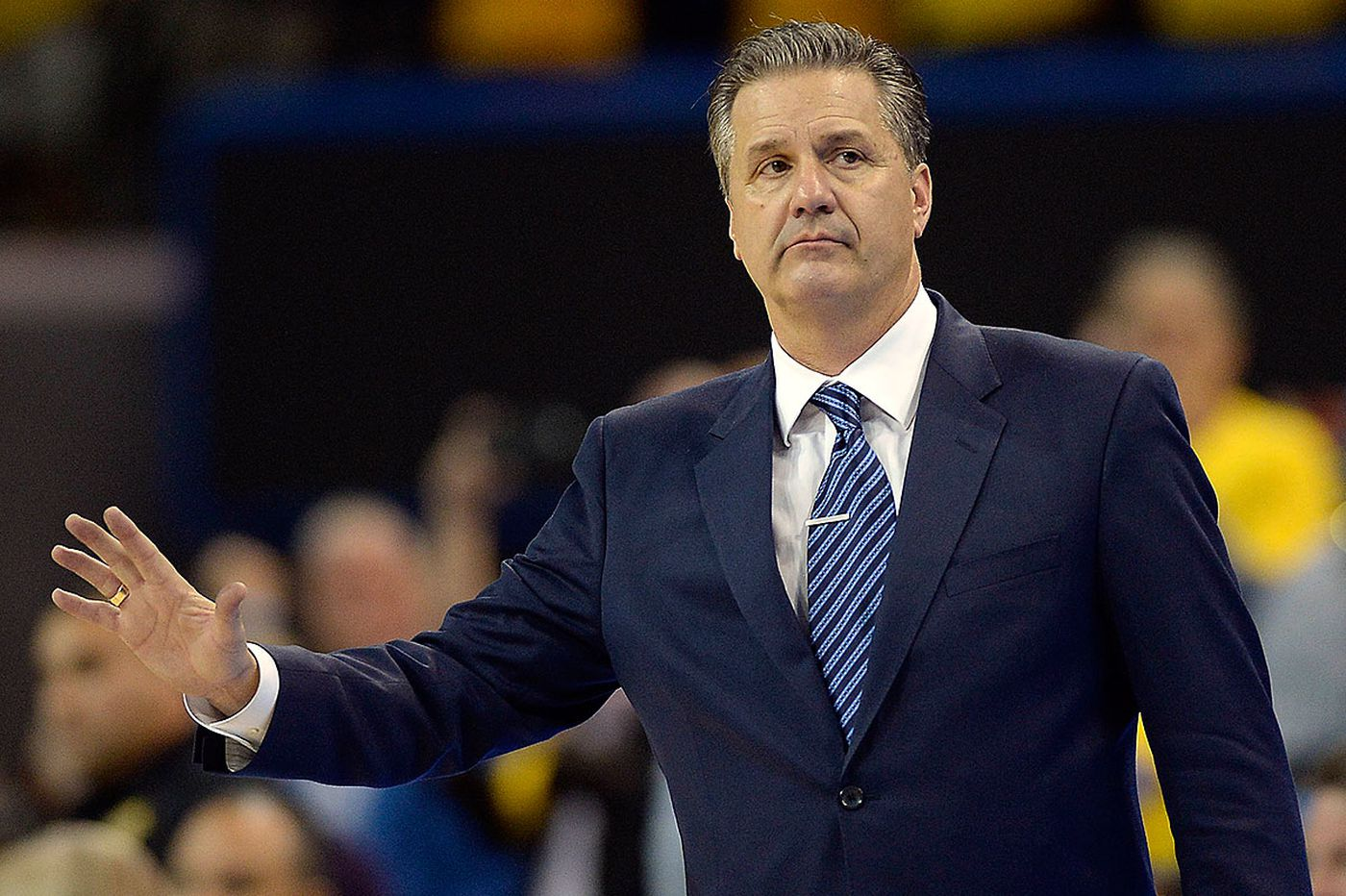 An audience with Kentucky coach John Calipari