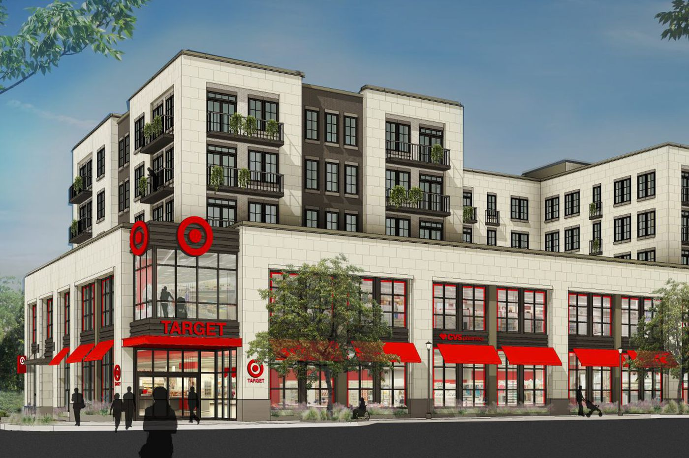 Target to open small store in planned Ardmore apartment ...