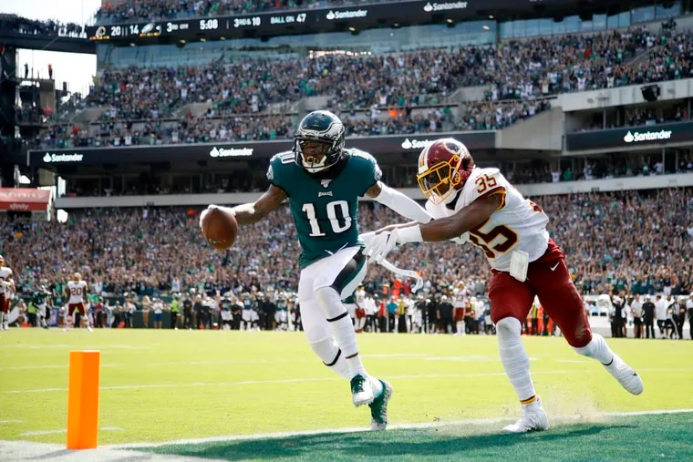 DeSean Jackson, now out for the season, was the Eagles' spark in its Week 1 comeback over Washington.