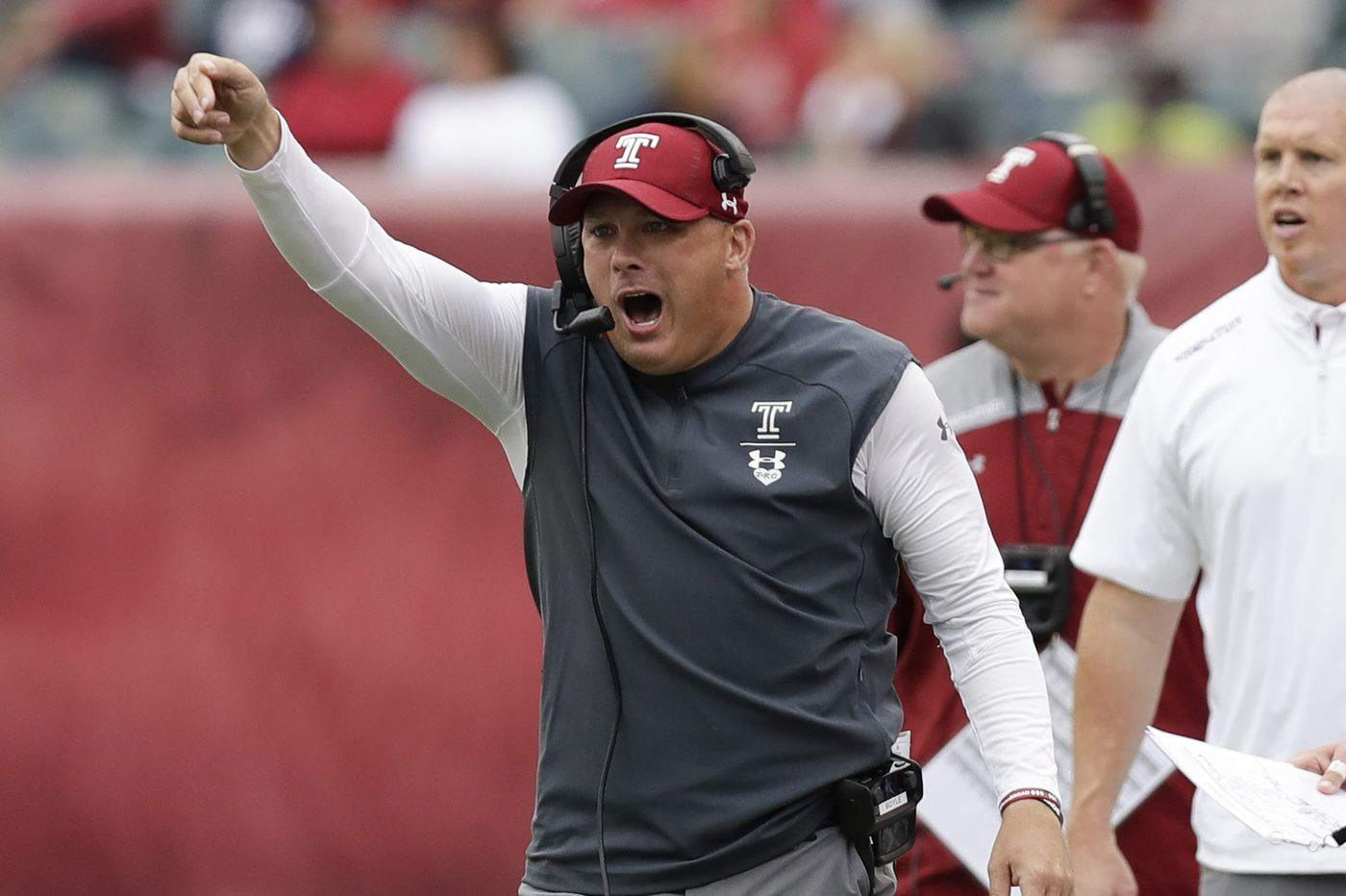 What Temple coach Geoff Collins is saying about Ryquell Armstead, James McHale
