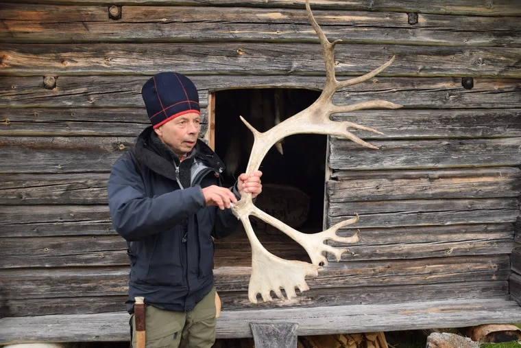 Mikael Vinka shares ancestral knowledge of the Swedish forest passed down by his indigenous Sami relatives.