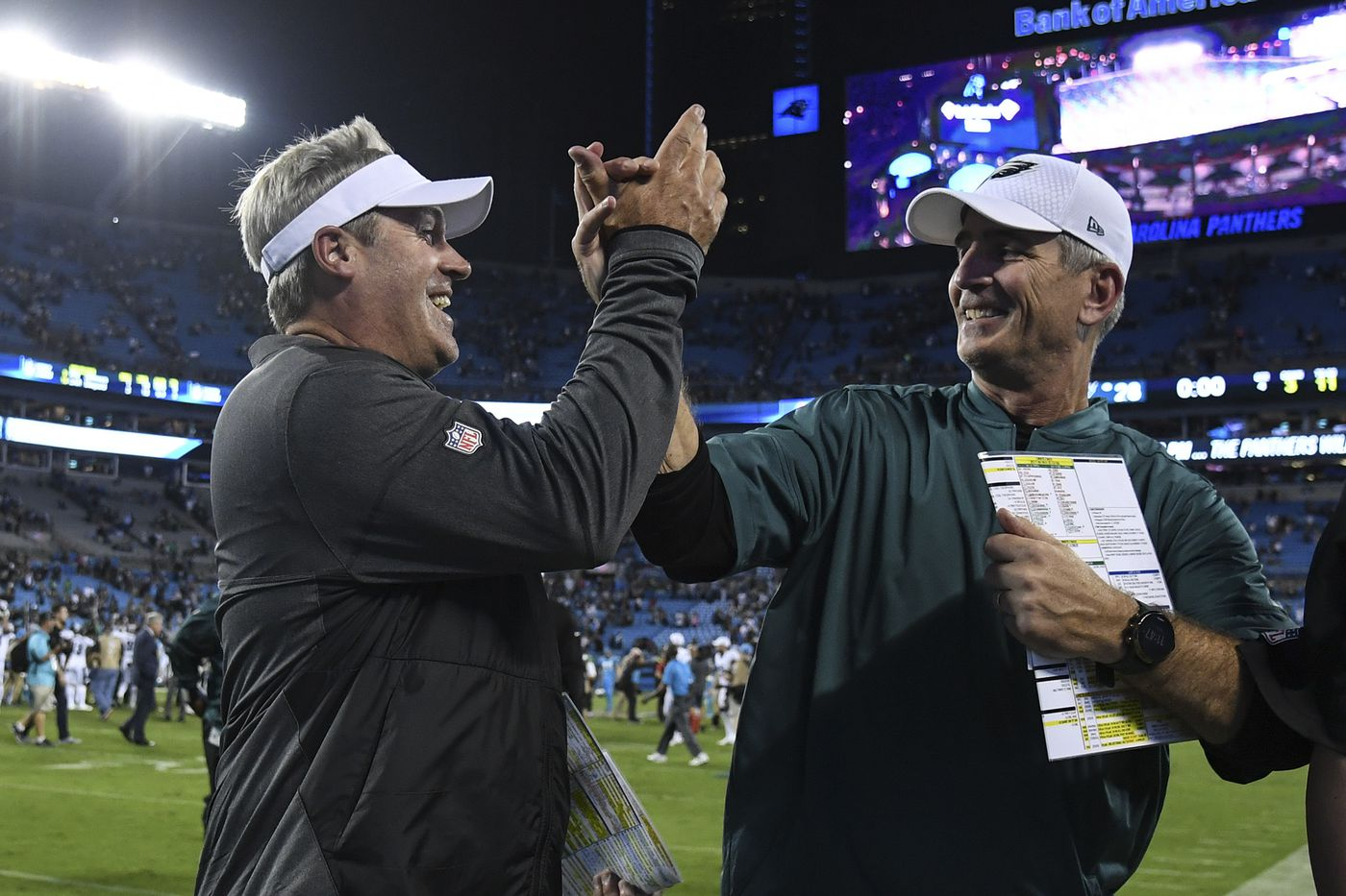 Eagles' biggest hurdle in repeating as Super Bowl champs will be overcoming loss of Frank Reich, John DeFilippo | Marcus Hayes