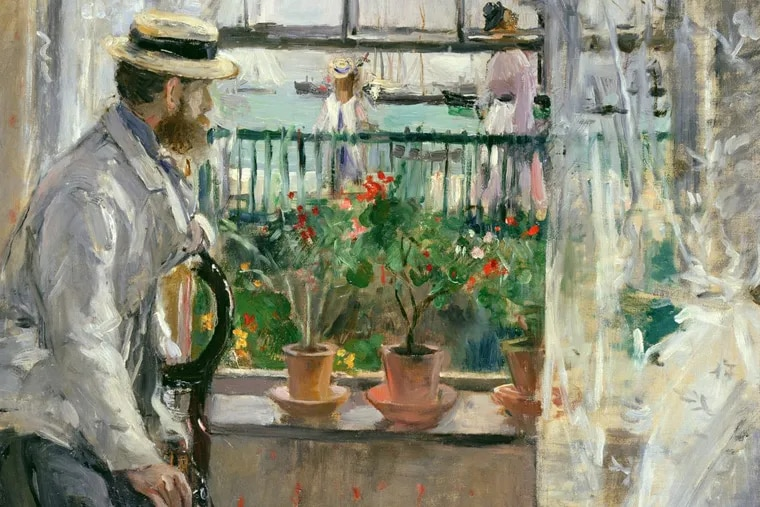 Berthe Morisot. Detail of In England (Eugène Manet on the Isle of Wight), 1875. Oil on canvas. Musée Marmottan-Claude Monet, Fondation Denis et Annie Rouart. Photo by Erich Lessing / Art Resource, NY
