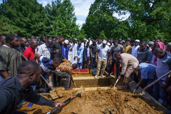As Isiaka Meite is laid to rest, those who survived Father's Day shooting are left to 'live in fear'