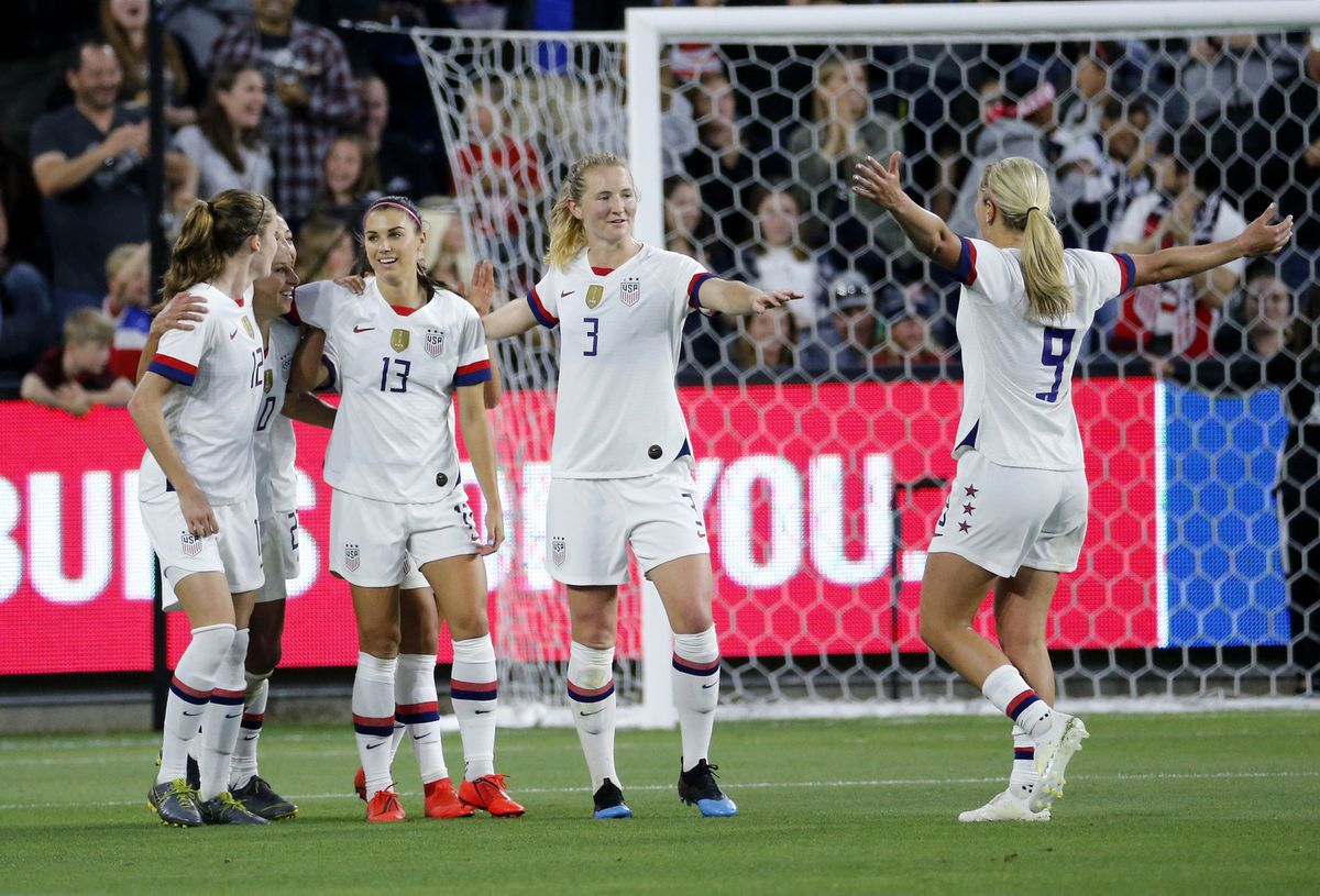 United States working its way slowly into Womens World