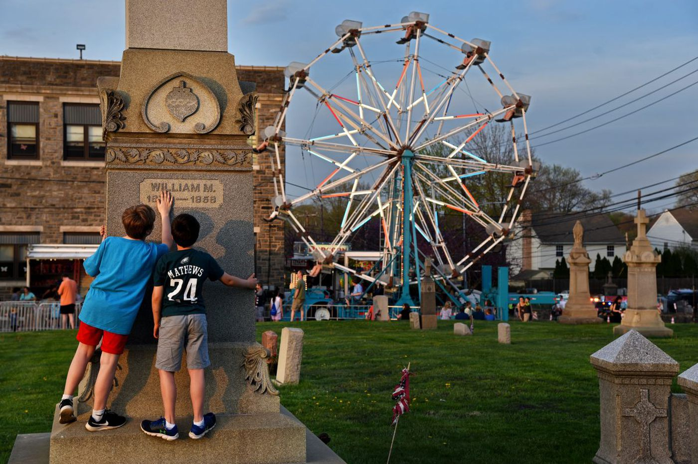 St. Denis Fun Fair: I dare you to say this Havertown tradition, now 50, will ever die. | Maria Panaritis