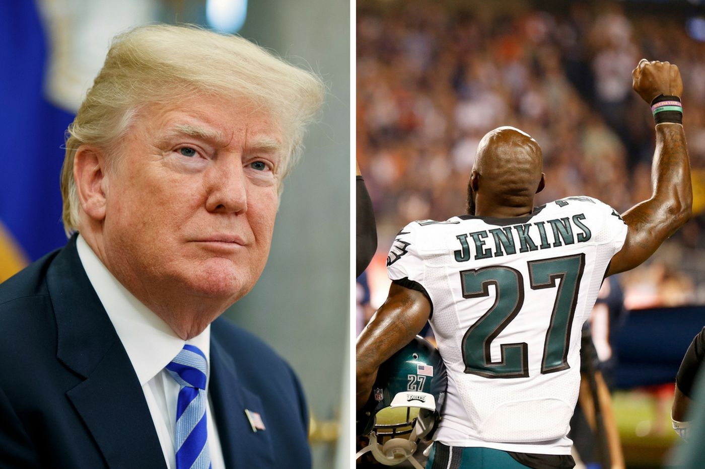 Trump absolutely correct to rescind Eagles' White House invitation | Opinion