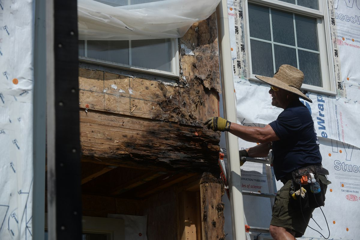 Water damage from bad construction destroys homes and dreams